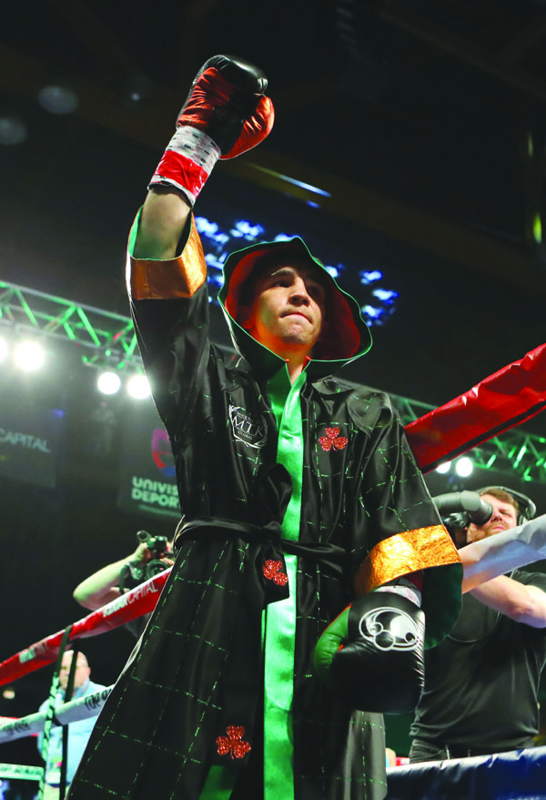 Michael Conlan will step through the ropes as a professional for the fourth time in Tucson, Arizona tomorrow (Friday) night Mandatory Credit ©INPHO/Tom Hogan