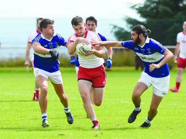 Lámh Dhearg and St John's have met twice already this year, but Sunday's game is much higher stakes