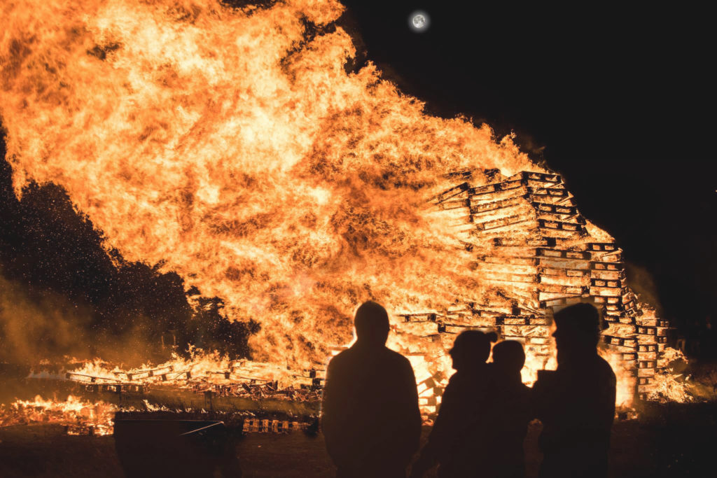 COMMUNITY CONCERNS: The Longlands internment bonfire