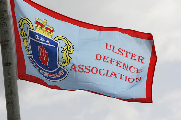 Four men have been arrested following a PSNI operation targeting the West Belfast UDA