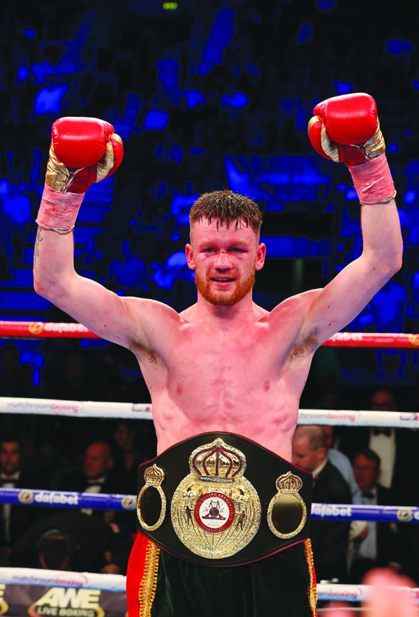 James Tennyson claimed the WBA Interneational super-featherweight title after a thrilling win against Ryan Doyle back in June  Photo by Matt Mackey / Press Eye.