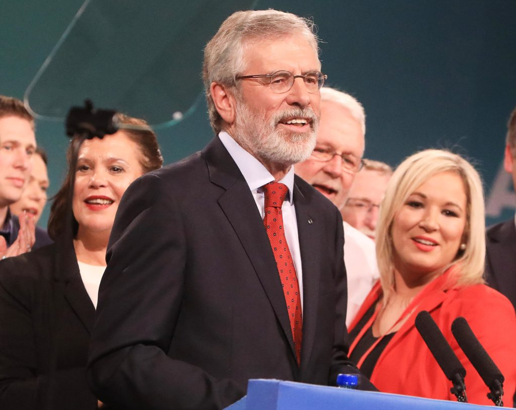 Gerry Adams will lead the Sinn Féin delegation to London