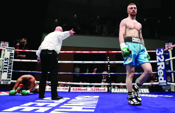 Lewis Crocker takes on Hungary's Gyula Rozsas on Saturday night at the SSE Arena