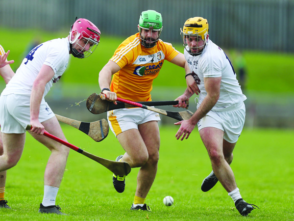 Antrim hurler, Ciaran Johnston says he was shocked to learn the scale of the homelessness epidemic in Ireland