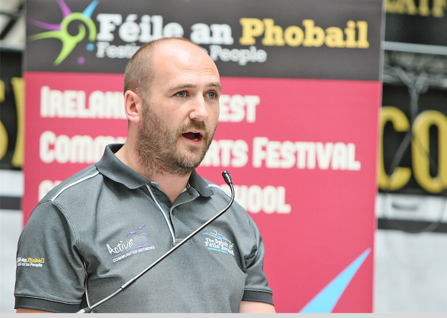 Féile Director Kevin Gamble is calling for John Edmund to champion the arts sector following controversial comments he made