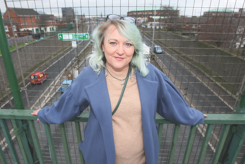 ON THE RISE:Brenda Gough whose short film has been nominated for an IFTA
