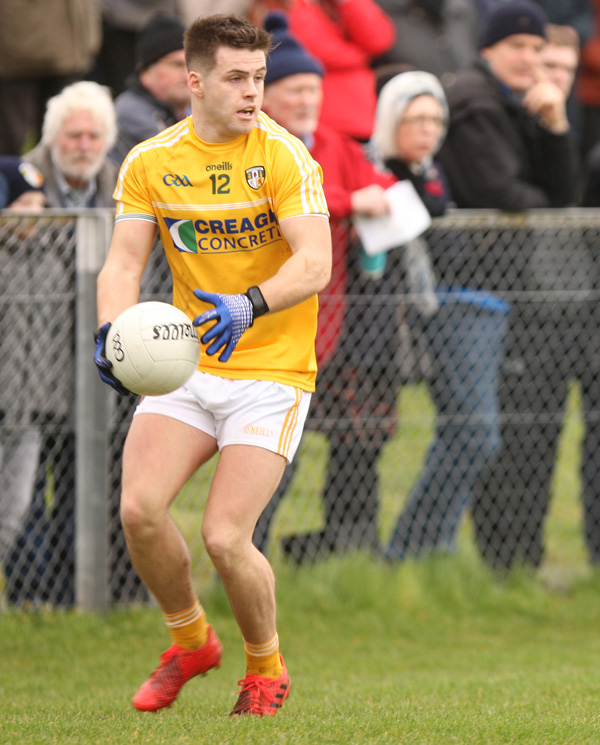 Paddy McBride led the line superbly against Leitrim and will be hoping for another good day in front of the posts against Waterford