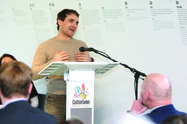 West Belfast actor Martin McCann speaks of his Féile highlights