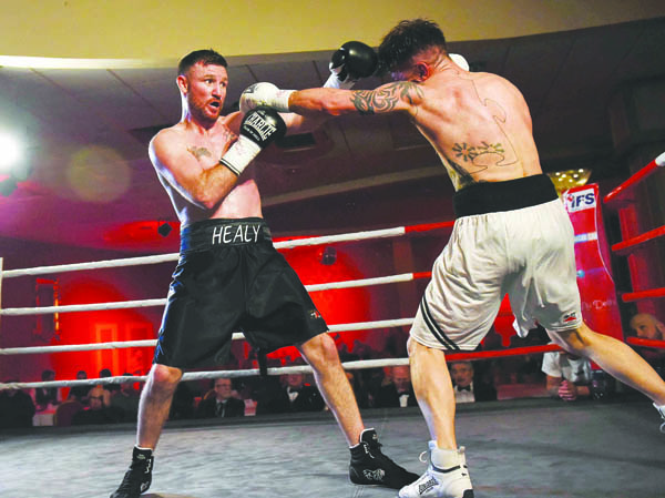 Gerard Healy warmed up for Saturday's tournament in Dublin with a points win over Iain Jackson three weeks ago