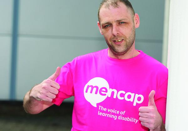 Ciaran Rogan is walking 200 miles to raise funds for MENCAP.