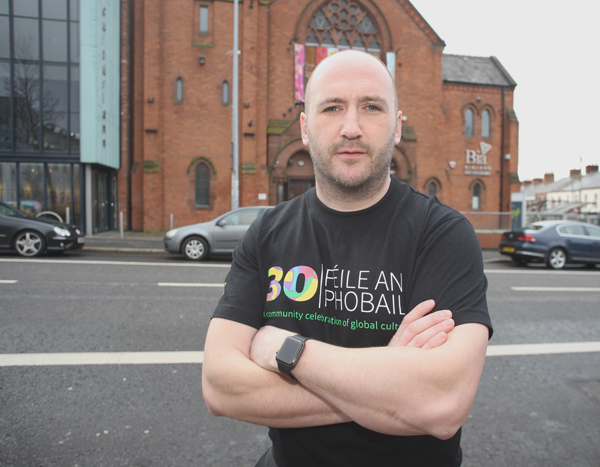 QUITE A COUP: Féile Director Kevin Gamble is excited about the line-up for the GFAdiscussion