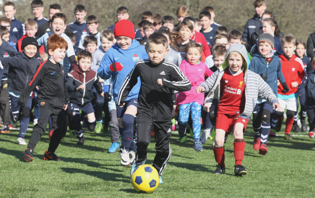 On the Ball, Rosario Easter Football Camp at Ormeau Park