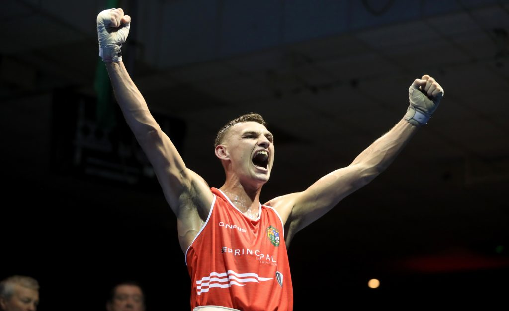 Boxer Sean McComb