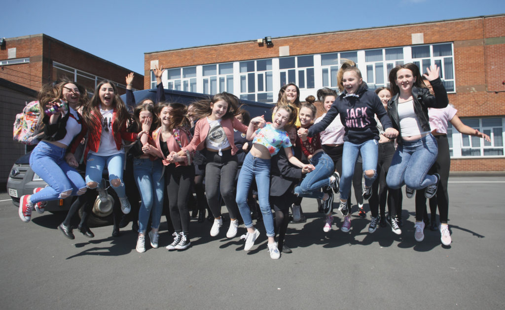 Significant funding from a number of Irish language groups means a record number of pupils at Mercy College are heading to the Gaeltacht this year - the girls were looking forward to the summer when we paid a visit to the school