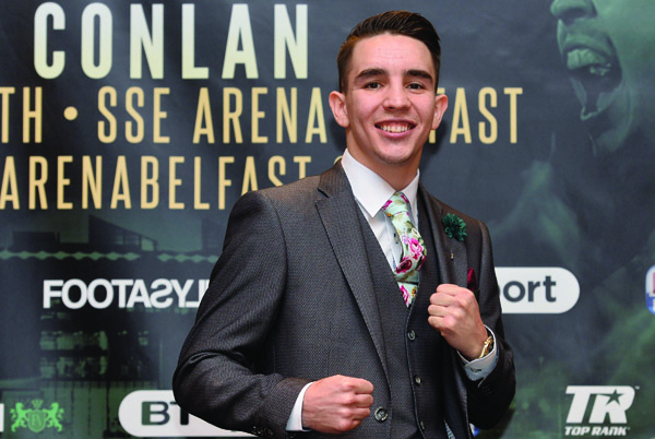 Michael Conlan says it will be a dream come true when he makes his home debut next month, but is not taking anything for granted at Madison Square Garden this weekend