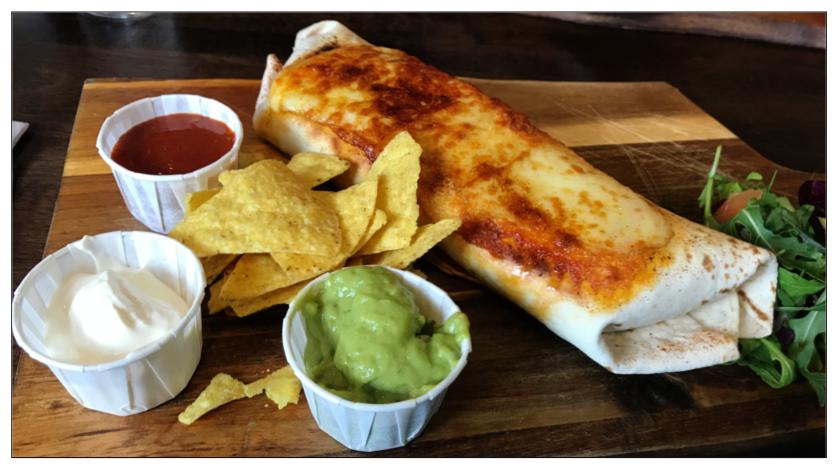 The Mexican Steak Burrito