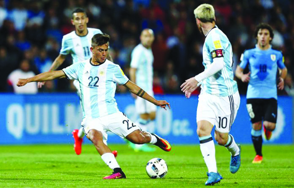 We are taking Messi, Dybala and Di Maria to fire Argentina to World Cup glory