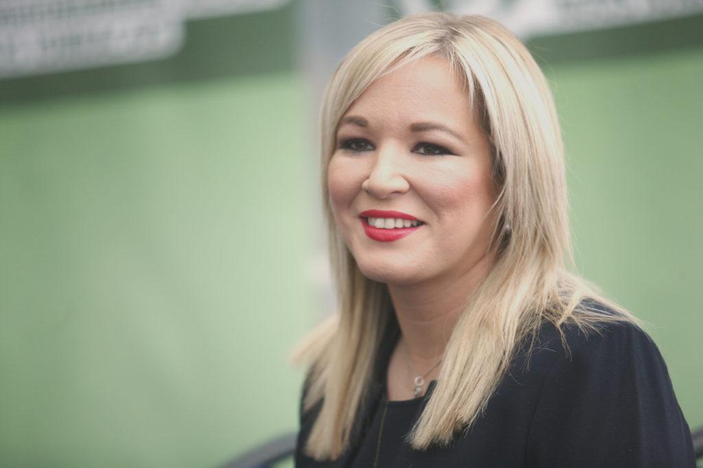 Sinn Féin Vice President Michelle O'Neill