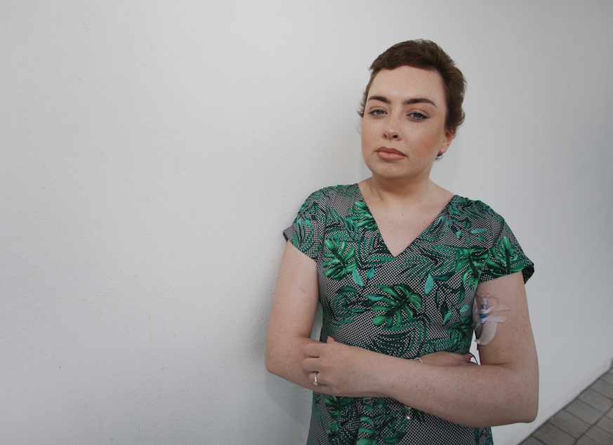 HOPEFUL: Eimear Smyth, who's in need of a stem cell transplant