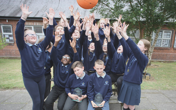 Pupils from St MaryÕs Star of the Sea Primary School on the Shore Road were recently crowned ÔBelfast Champion' winners of the ÔSwim UlsterÕ Primary Schools Mini Water Polo tournament