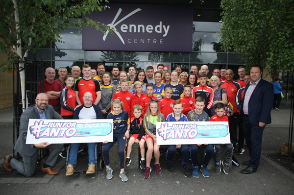 Anto Finnegan launching a 5K run to raise funds for DeterMNd