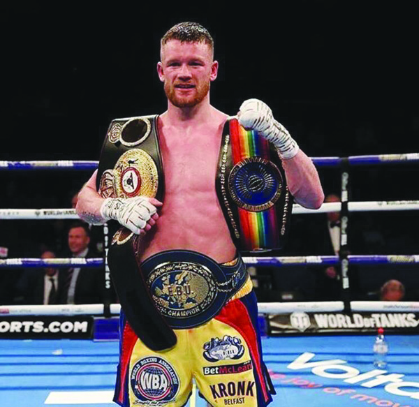 James Tennyson has been named at number one in the WBA's super-featherweight rankings ahead of a European title defence against Samir Ziani later this year