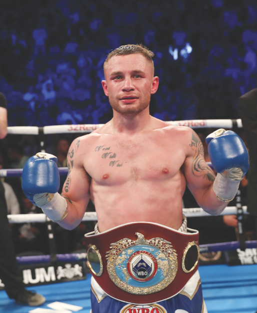 Carl Frampton predicts he could score his first stoppage win since February 2015