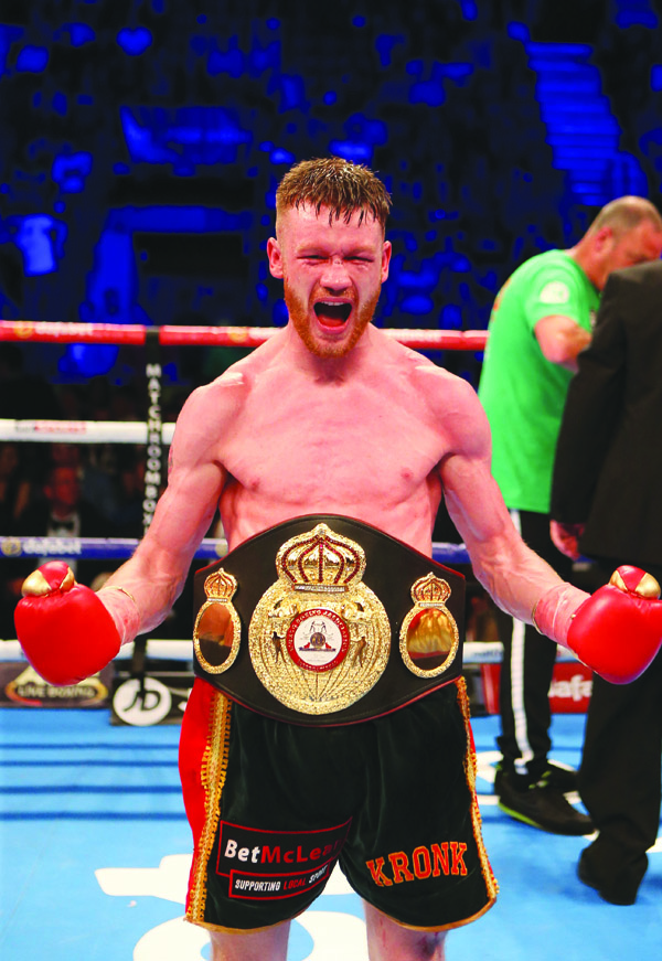James Tennyson will challenge for Tevin Farmer's IBF super-featherweight title in Boston on October 20