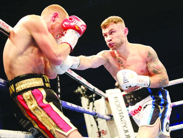 Carl Frampton goes on the offensive against Luke Jackson at Windsor Park on Saturday night
