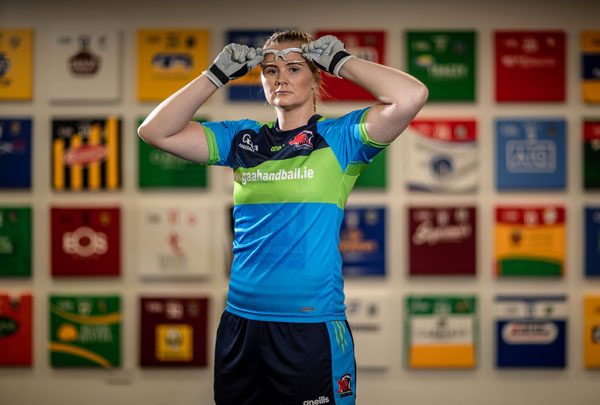 Team Ireland World Handball Championship Jersey Launch, O'Neill's Store, Dublin 1/8/2018 Pictured at today's launch is Reigning Handball World Champion Aisling Reilly Mandatory Credit ©INPHO/Morgan Treacy