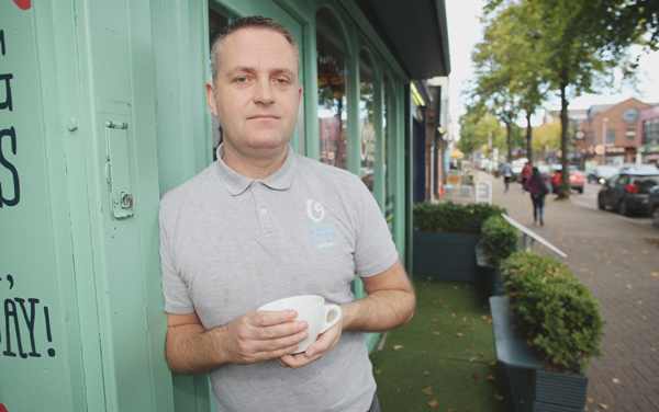 Richard Walker, owner of The Other Place on Botanic Avenue