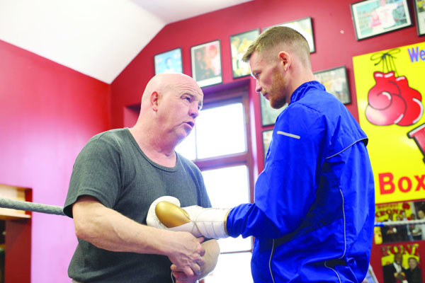 Tony Dunlop believes his fighter, James Tennyson will produce a devastating display against Tevin Farmer on October 20