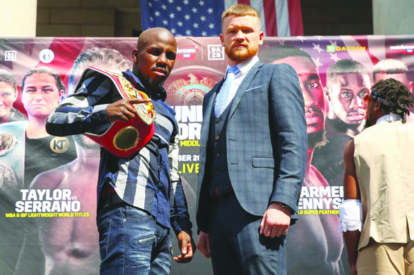 James Tennyson challenges Tevin Farmer for the American's IBF super-featherweight title