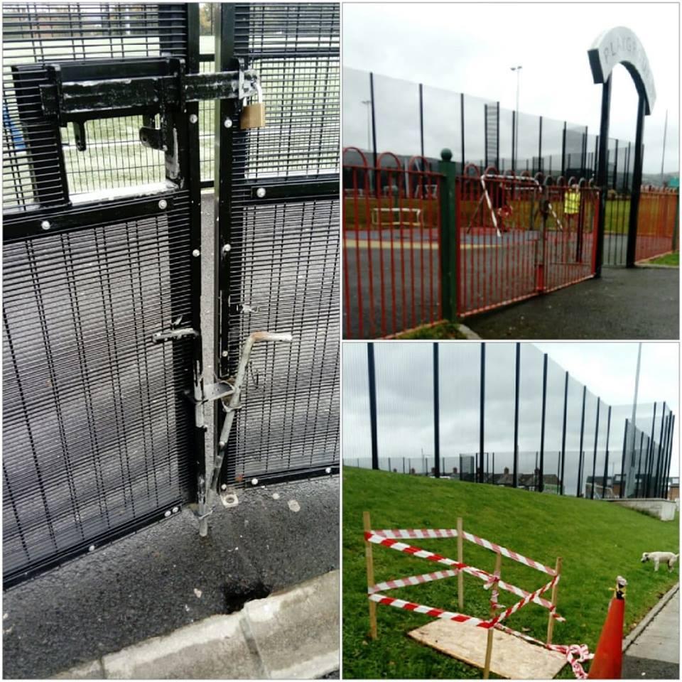 ENOUGH IS ENOUGH:Recent vandalism at Marrowbone Park