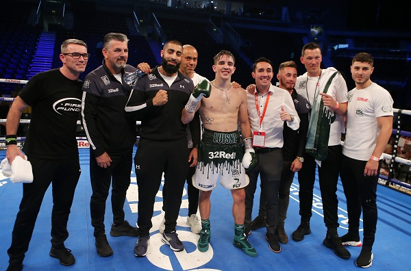 Michael Conlan will fight for his first professional title on December 22 in Manchester as part of the Frampton v Warrington bill