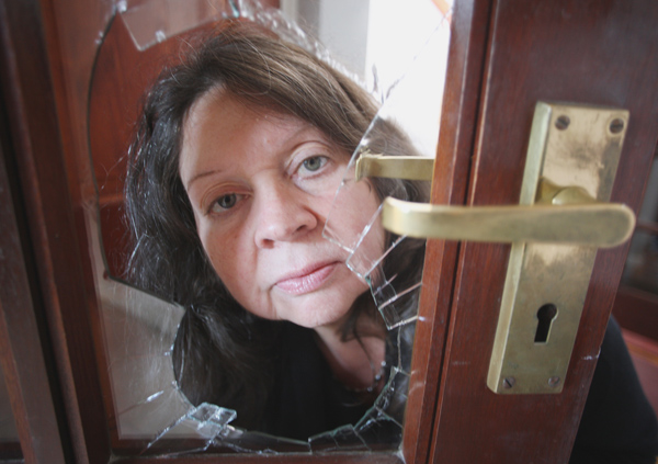 BREAK-IN Patricia Lemon has been left heartbroken by the theft
