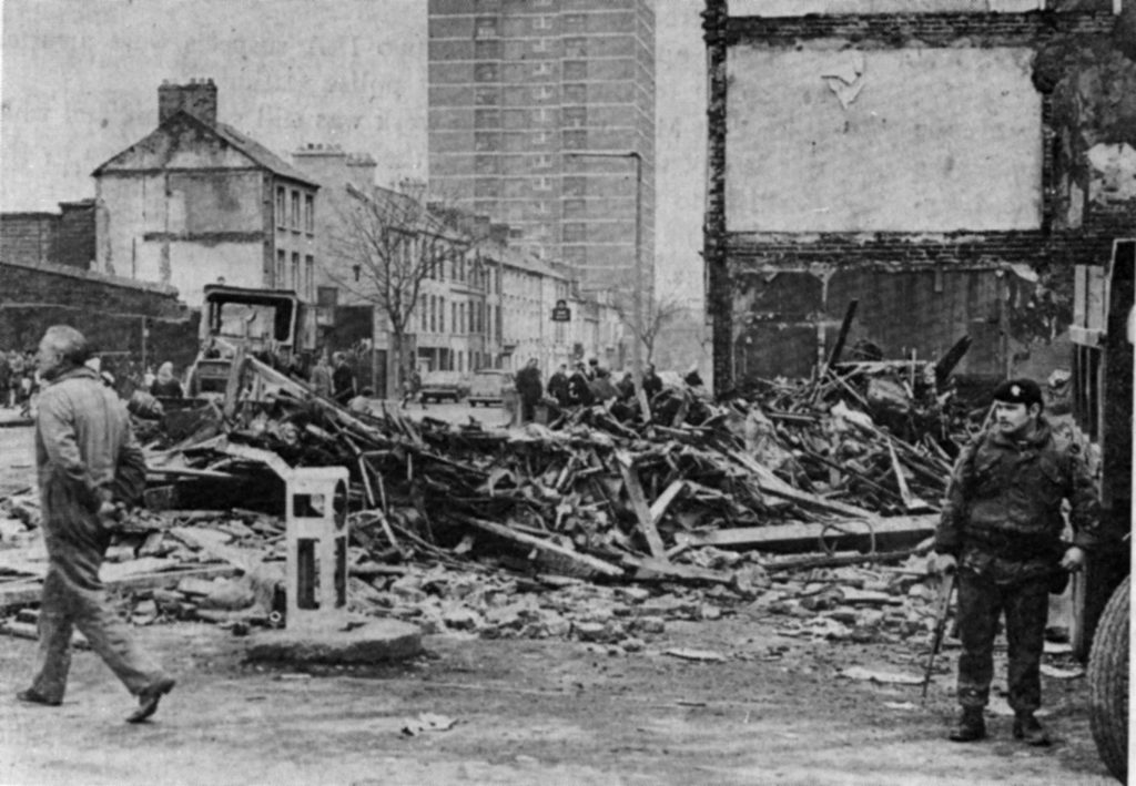 15 people, including two children were killed in the North Queen Street bar massacre on December 4 1971.