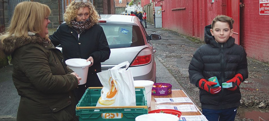 APPEAL: The annual Food Bank collection will take place outside Solitude on Saturday before Cliftonville's match against Glenavon (3pm kick-off)