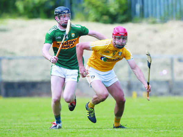 Antrim fans will be hoping for a better outcome against Kerry today (Saturday) following their four-point defeat to the Kingdom in last year's Joe McDonagh Cup