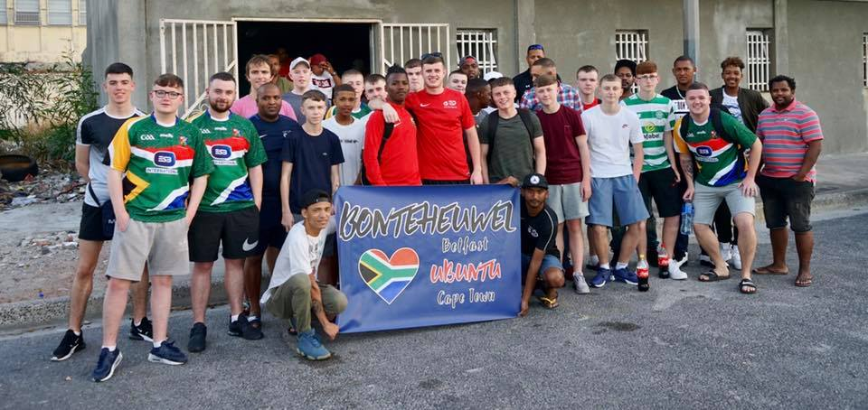 The group travelled to Cape Town in South Africa