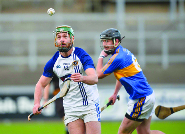 St Gall's ace Tómas Ó Ciaráin, pictured in action against Keady in the Ulster final, is a doubt along with Sean Burke for Sunday's All-Ireland IHC semi-final clash with Oranmore-Maree in Parnell Park
