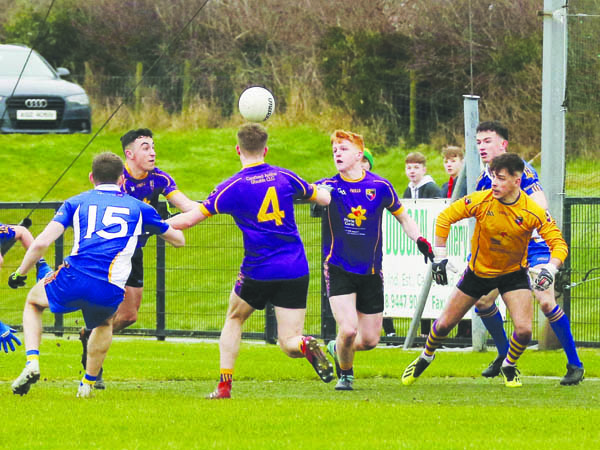 Carryduff came through a thrilling semi-final clash with neighbours St Brigid's to book their place in the Ulster U21 final and they'll take on Tyrone champions Dromore at Creggan on Sunday