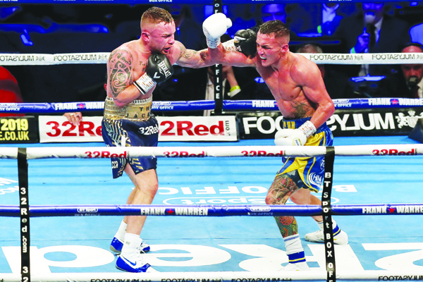 Carl Frampton lost to IBF champion Josh Warrington last time out, but says he still has options to get back to the top