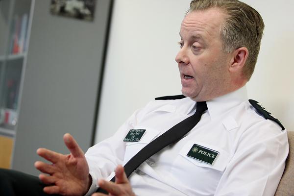 TOP COP:New head of police in West Belfast, PSNI Chief Inspector Gary Reid
