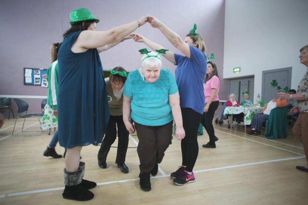 A Seniors Ceili as part of Creativity month hosted by Colin Neighbourhood Partnership at Dunmurry Presbyterian Church