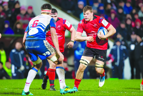 Jordi Murphy won the Champions Cup with Leinster last year, but hopes to overcome his former team with Ulster on Saturday