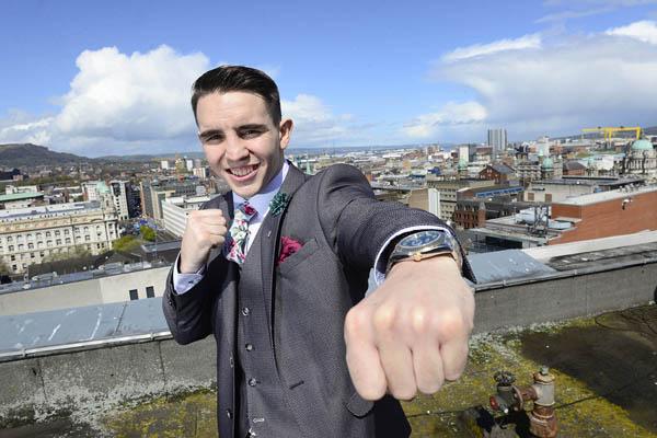 West Belfast boxer Michael Conlan