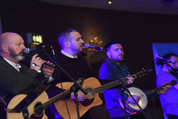 MUSICAL TREAT: The Belfasters on stage in The Devenish last year