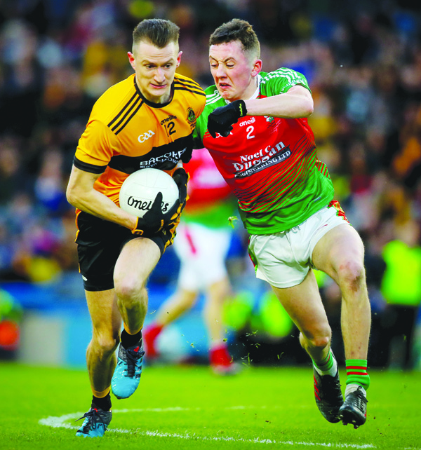 Kristian Healy will miss Naomh Éanna's league opener against Cargin on Sunday due to injury