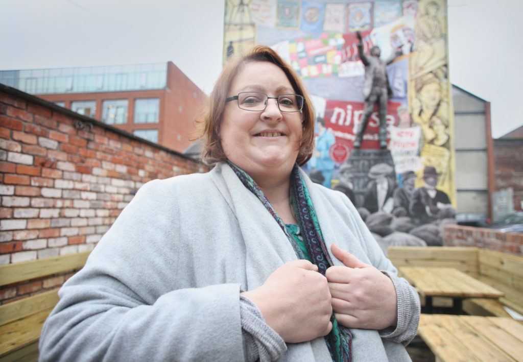 CHARITABLE: Aisling Cartmill, Programmes Manager at Belfast Unemployed Resource Centre
